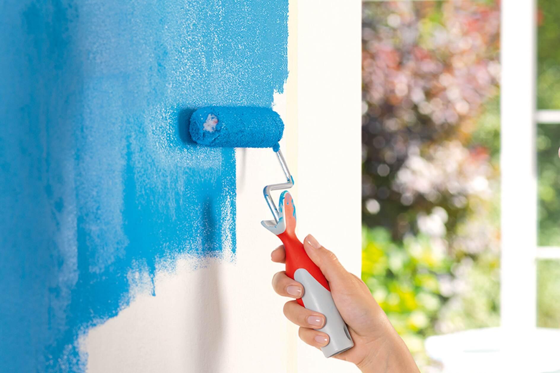 Wände und Decken streichen - so einfach geht\'s! - tesa