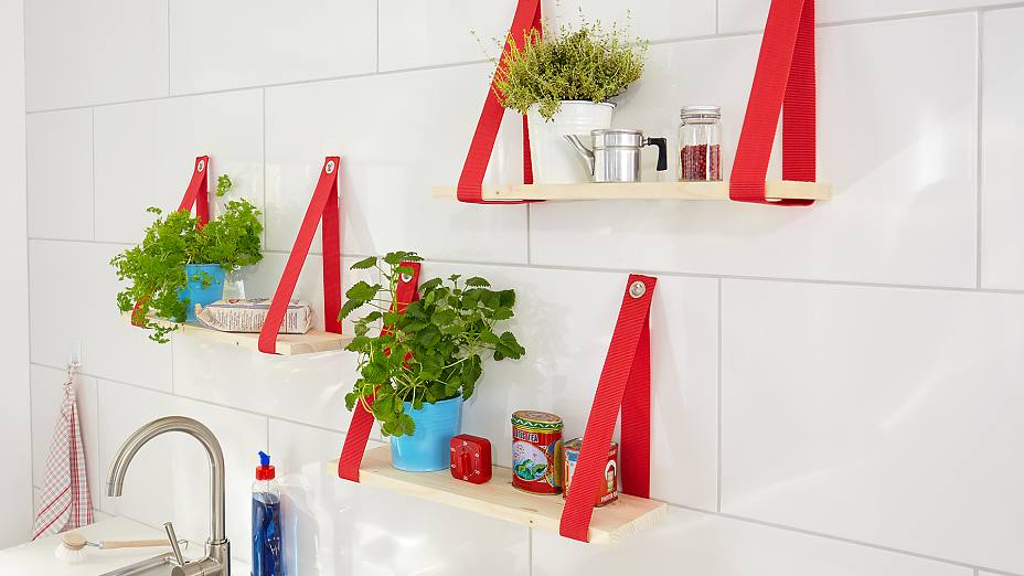 Make a place for herbs in your kitchen