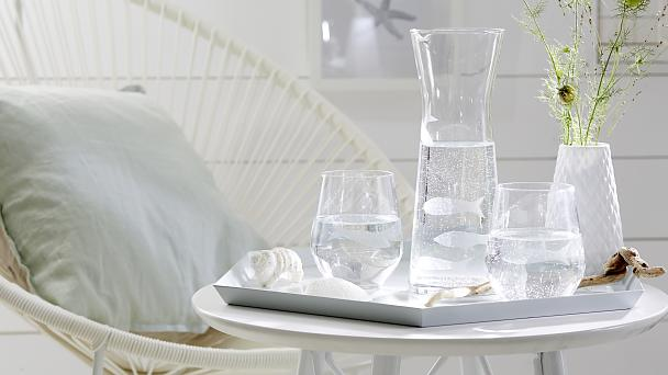 Glasses and Carafe