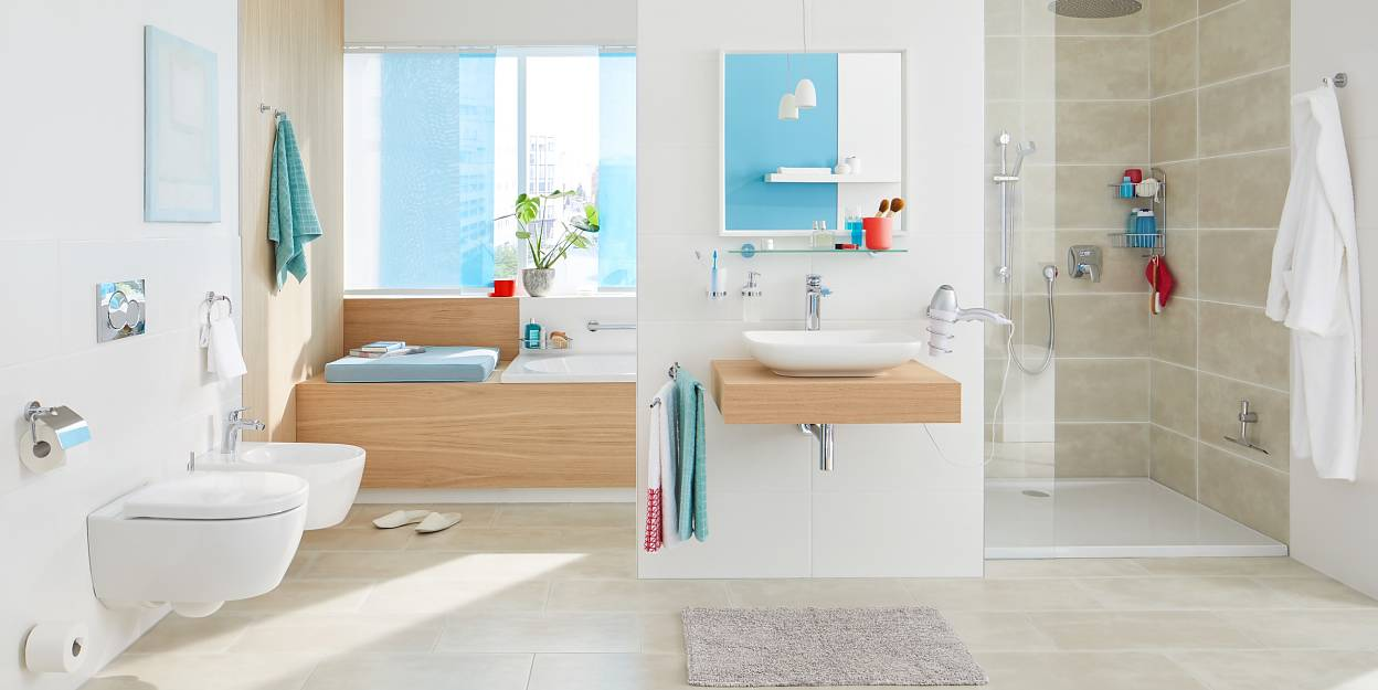 Akcesoria łazienkowe Bez Wiercenia Tesa