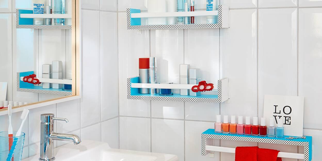 Omtyckta Förvaringshyllor för badrummet - tesa AJ-03