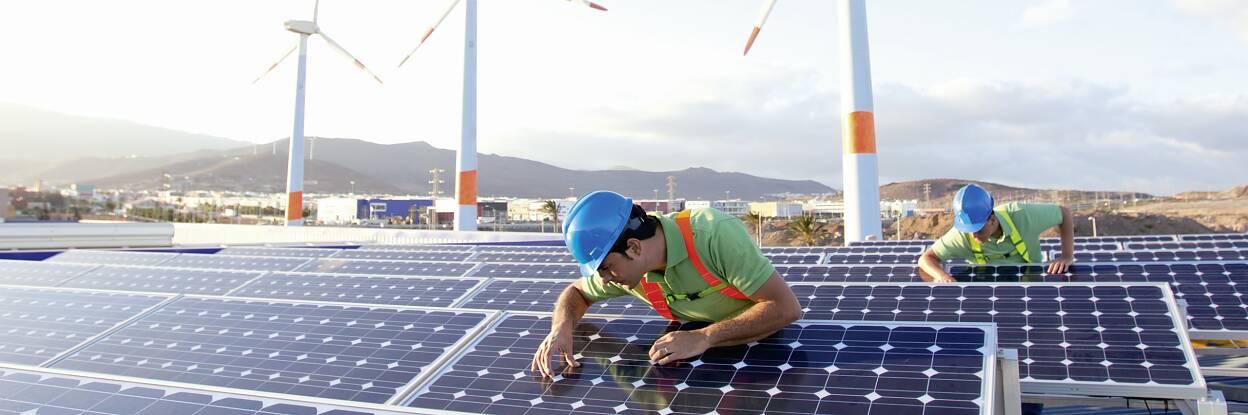 Güneş ve Rüzgâr Enerjisi Endüstrisi