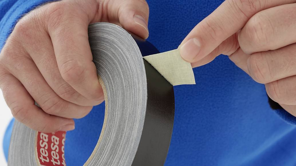 tesa 4657 temperature resistant acrylic coated cloth tape step1of4 ap