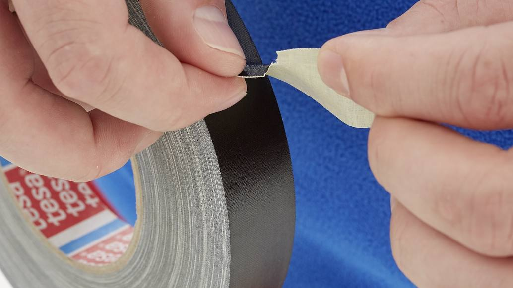 tesa 4657 temperature resistant acrylic coated cloth tape step2of4 ap